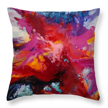 Exploring Forms Throw Pillow