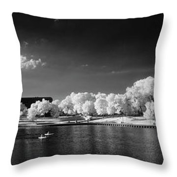 Exploring Ir Throw Pillow
