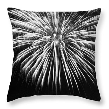Throw Pillow featuring the photograph Explosion by Colleen Coccia
