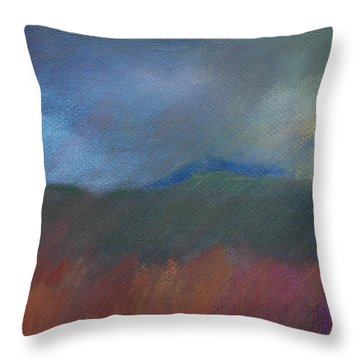 Explosion Nearby Throw Pillow