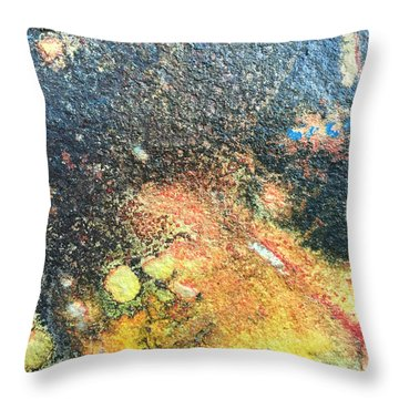 Explosive Sunrise Throw Pillow