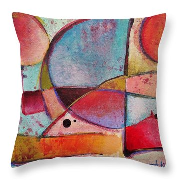 Expression # 13 Throw Pillow by Jason Williamson