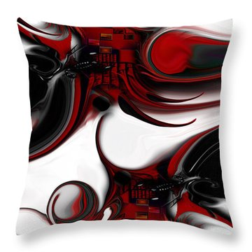 Expression And Creation Throw Pillow