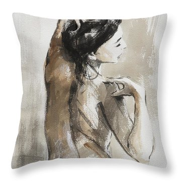 Expression Throw Pillow
