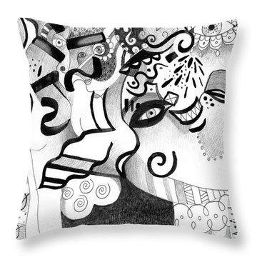 Expressions Throw Pillow