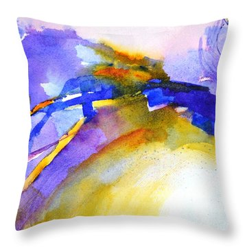 Expressive #3 Throw Pillow