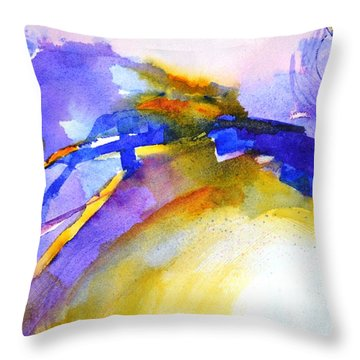 Expressive #3 Throw Pillow