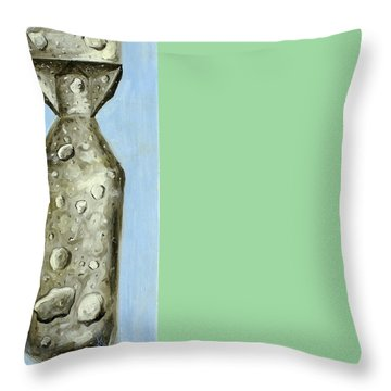 Extinction Throw Pillow by Ryan Demaree