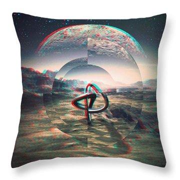 Extinction Throw Pillow by Jorge Ferreira