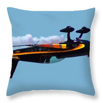 Extra 300s Stunt Plane Throw Pillow
