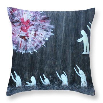 Extraordinary People Throw Pillow