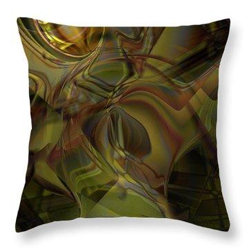Extraterium Throw Pillow