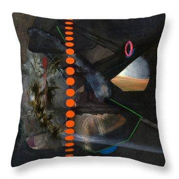 Extraterrestrial  Throw Pillow by Antonio Ortiz