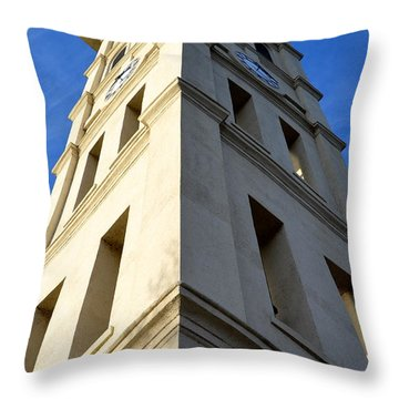 Extreme Angles Throw Pillow by Corinne Rhode