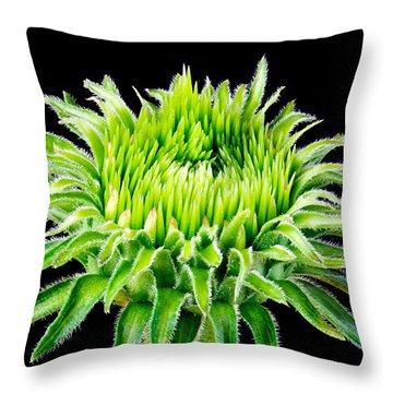 Extreme Green  Throw Pillow