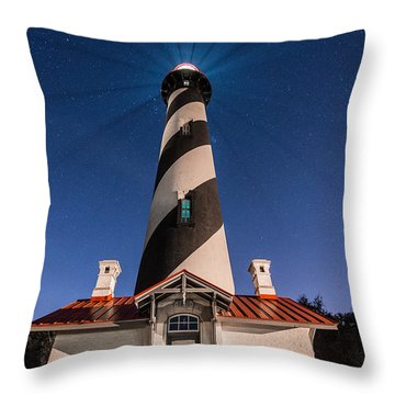 Extreme Night Light Throw Pillow