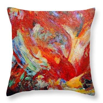 Exuberance Throw Pillow by Michael Durst