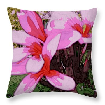 Exuberance Throw Pillow by Winsome Gunning