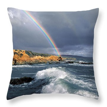 Eye Candy Throw Pillow
