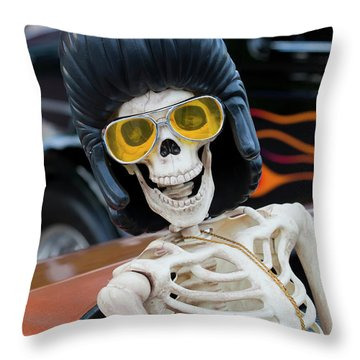 Throw Pillow featuring the photograph Eye Contact by Chris Dutton
