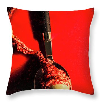 Eye Fillet Throw Pillow