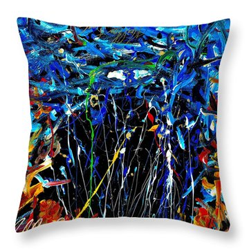 Eye In The Sky And Water Throw Pillow