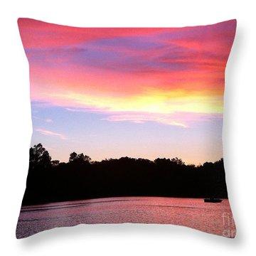 Eye In The Sky Throw Pillow by Jason Nicholas