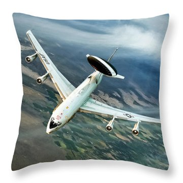 Eye In The Sky Throw Pillow