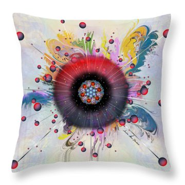 Eye Know Light Throw Pillow