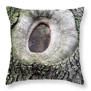 Throw Pillow featuring the photograph Eye  by Lola Connelly
