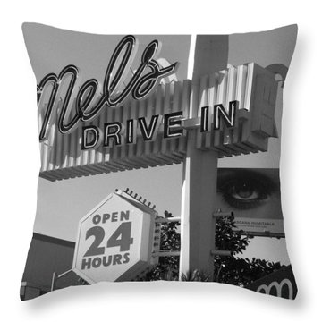 eye love Mel's Throw Pillow