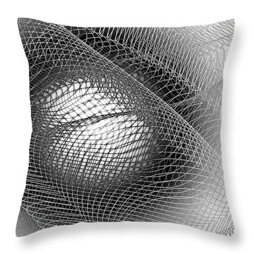 Eye Net Throw Pillow