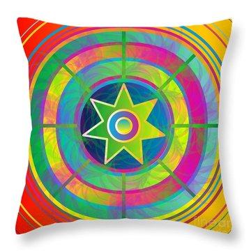Eye Of Kanaloa 2012 Throw Pillow