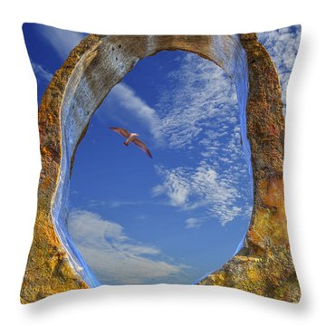 Eye Of Odin Throw Pillow