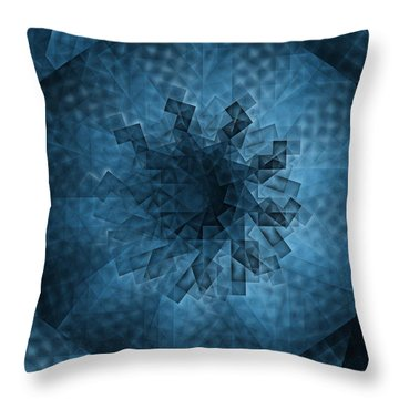 Eye Of The Crystal Throw Pillow