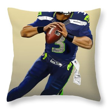 Eye Of The Hawk Throw Pillow
