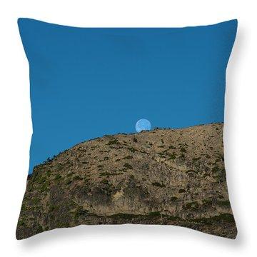 Eye Of The Mountain Throw Pillow