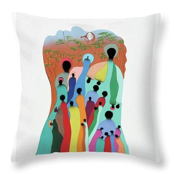 Eye Of The Spirit Throw Pillow