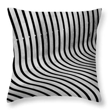 Eye Ride - Illusion  Throw Pillow
