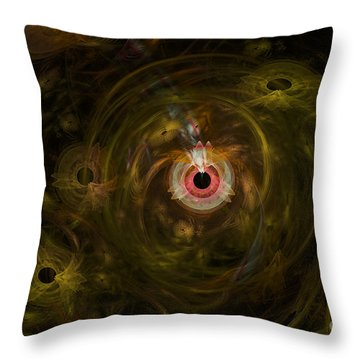 Eye See It All Throw Pillow