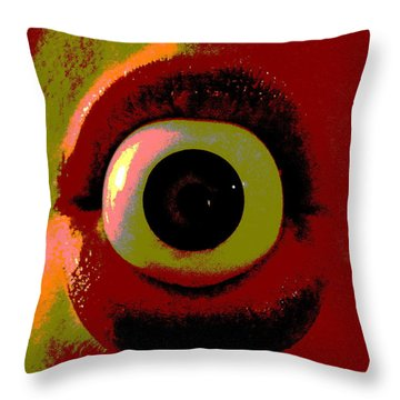 Eye See You  Throw Pillow