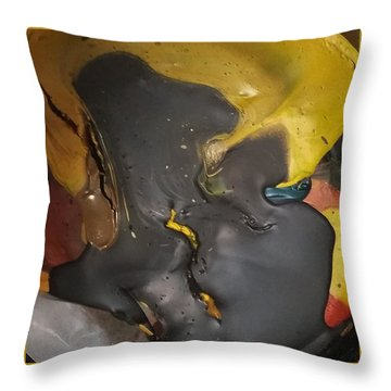 Eyelash Hot Gliding Throw Pillow