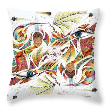Eyepsych Throw Pillow