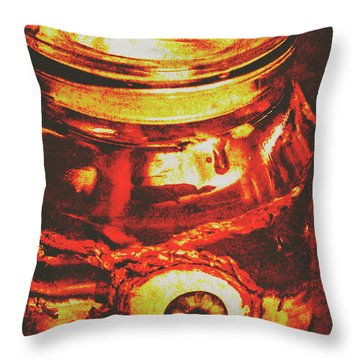Eyes Of Formaldehyde Throw Pillow