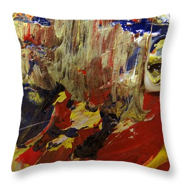 Eyes Of Narcissis Throw Pillow by Charlie Spear