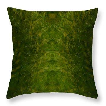 Eyes Of The Garden-2 Throw Pillow