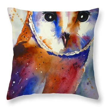 Eyes Of The Guardian Throw Pillow