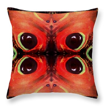 Throw Pillow featuring the digital art Eyes Of The Universe # 8 by Michelle Audas