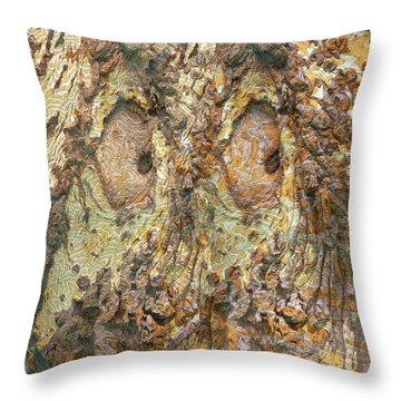 Eyes See You Throw Pillow