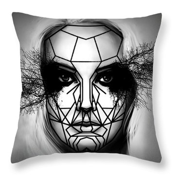 Eyes Tell The Truth Throw Pillow